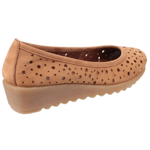 The Flexx Run Prefered Nubuck Tabaco Shoes