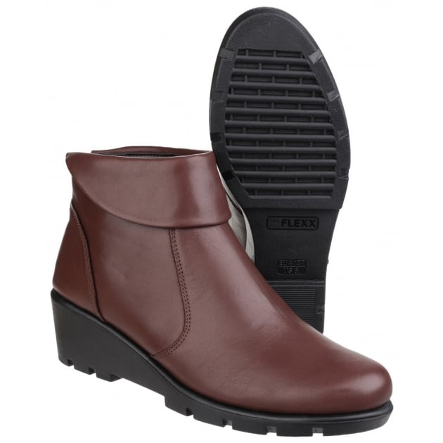 The Flexx Slangvage Cashmere Mogano Boots