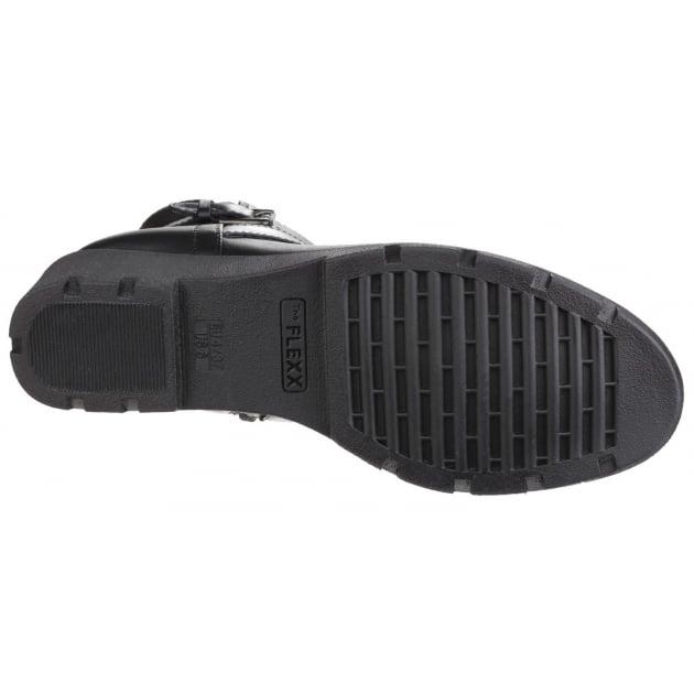 The Flexx Slave To Love Cashmere Black Boots