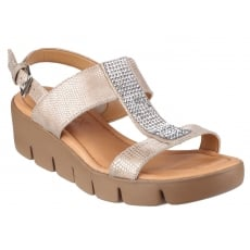 The Flexx Strass Em Up Amour Platino Sandals
