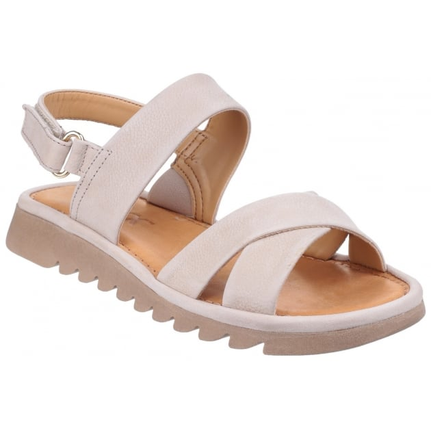 Walk A Beat Nubuck Corda Sandals