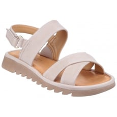 The Flexx Walk A Beat Nubuck Corda Sandals