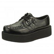 TUK Womens Viva Hi Sole Creeper Av6802 Black Shoes