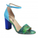 Yull Harrogate Tropical Sky Blue/Green Shoes#1