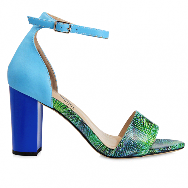 Yull Harrogate Tropical Sky Blue/Green Shoes