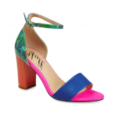 Yull Harrogate Tropical Sky Pink/Blue/Coral/Green Shoes