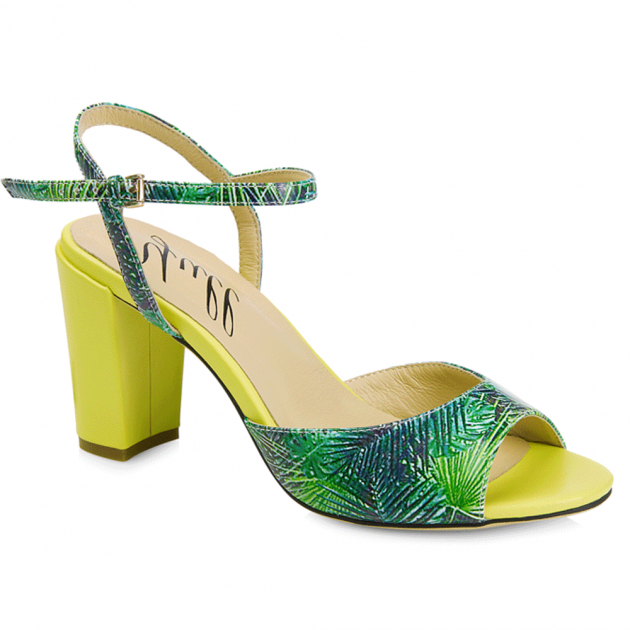 Margate Yellow/Green Sandals