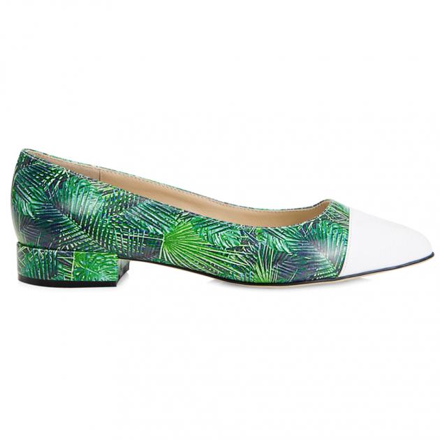 Pimlico Green Multi Shoes