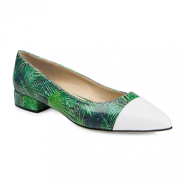 Yull Pimlico Green Multi Shoes