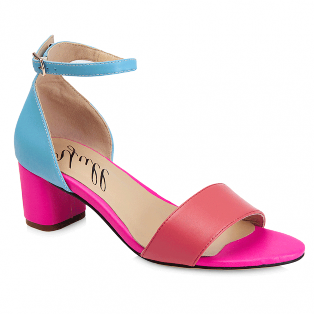 Yull Scarborough Pink/Blue Sandals