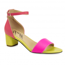Yull Scarborough Yellow/Pink Sandals