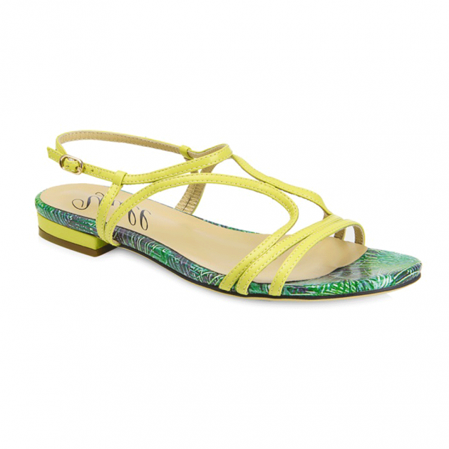 Tenby Lemon Sandals