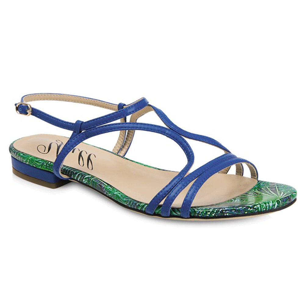 747ce5cb9f8 Yull Tenby Women s Royal Blue Sandals - Free Returns at Shoes.co.uk