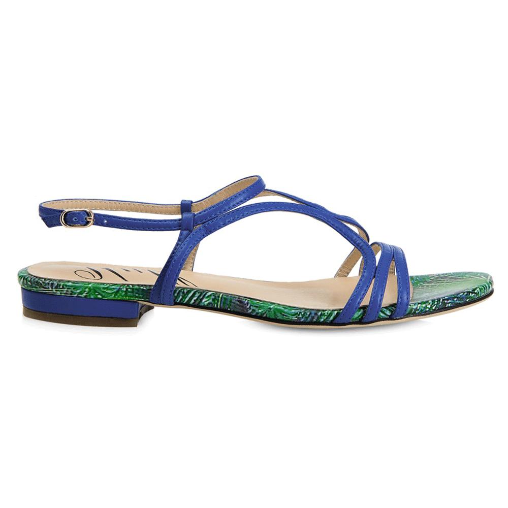 Yull Tenby Women's Royal Blue Sandals