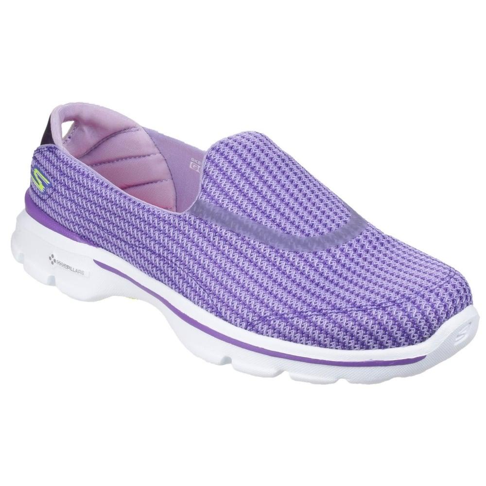 Skechers Go Walk 3 Women's Purple Sports - Free Returns at ...